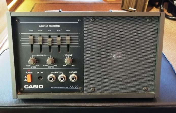 Vintage Casio AS-20 20W Portable Keyboard Amplifier (PRE-OWNED)